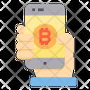 Pay Money Bitcoin Cryptocurrency Bitcoin Pay Bitcoin Icon