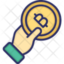 Bitcoin Payment Accept Bitcoin Paying With Bitcoin Icon