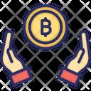 Bitcoin Payment Send Bitcoin Accept Bitcoin Icon