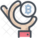 Bitcoin Payment Investment Icon