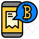 Bitcoin Payment Accept Icon