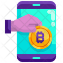 Bitcoin Payments Bitcoin Mining Cryptocurrency Mining Icon