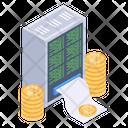 Bitcoin Payroll Icon
