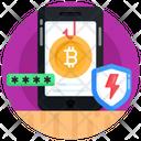 Banking App Finance App Bitcoin Phishing Icon