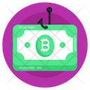 Malware Bitcoin Phishing Currency Phishing Icon