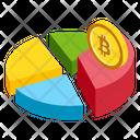 Bitcoin Pie Icon