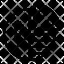 Bitcoin Pie Chart Bitcoin Chart Bitcoin Pie Icon