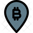 Bitcoin Pin Icon