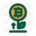 Bitcoin Plant Icon