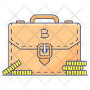 Business Case Business Portfolio Money Bag Icon