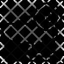 Bitcoin Portfolio Btc Portfolio Blockchain Business Icon