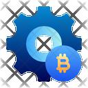 Bitcoin preference Icon