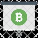 Bitcoin Presentation Icon