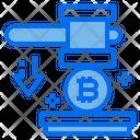 Bitcoin Price Down Icon