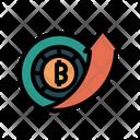 Bitcoin Price High Icon