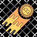 Bitcoin price hike Icon
