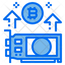 Bitcoin Price Up Icon