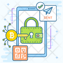 Bitcoin Private Key Icon