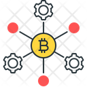 Bitcoin Process Bitcoin Node Node Icon