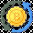 Bitcoin Process Icon