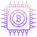 Bitcoin Processor Bitcoin Cryptocurrency Icon