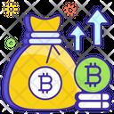Bitcoin Profit Coin Sack Money Sack Icon