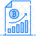 Bitcoin Profit Bitcoin Earning Income Icon