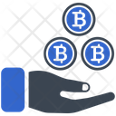 Cryptocurrency Bitcoin Profit Icon
