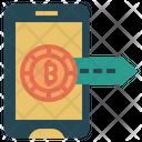 Bitcoin Profit Profit Revenue Icon