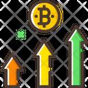 Profit Bitcoin Profit Graph Profit Graph Icon
