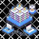 Blockchain Network Bitcoin Programming Btc Programming Icon