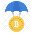 Bitcoin Protection Cryptocurrency Protection Financial Insurance Icon