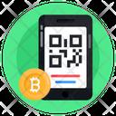 Qr Code Bitcoin Qr Bitcoin Qr Scan Icon