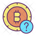 Query Bitcoin Query Bitcoin Question Icon