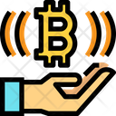 Bitcoin Receive Bitcoin Receive Icon