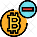 Bitcoin Reduce Bitcoin Reduce Icon