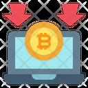 Bitcoin Reduce Icon