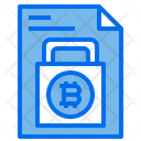 Lock Security Document Icon