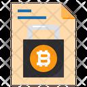 Lock Security Document Icon
