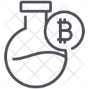Bitcoin Currency Finance Icon