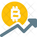 Bitcoin Rise Icon
