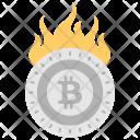 Rise Btc Rising Icon