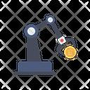 Crane Bitcoin Crypto Icon