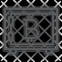 Bitcoin Storage Security Icon