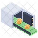 Bitcoin Safe Box Icon