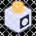 Bitcoin Locker Bitcoin Safe Bitcoin Vault Icon