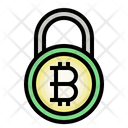 Bitcoin Safety Blockchain Password Icon