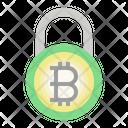 Bitcoin Safety Bitcoin Blockchain Icon