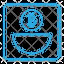 Bitcoin Saving Icon