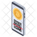 Bitcoin Scanning Icon